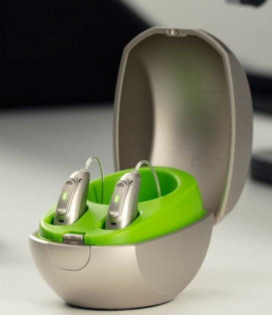 nowoczesny aparat słuchowy phonak paradise